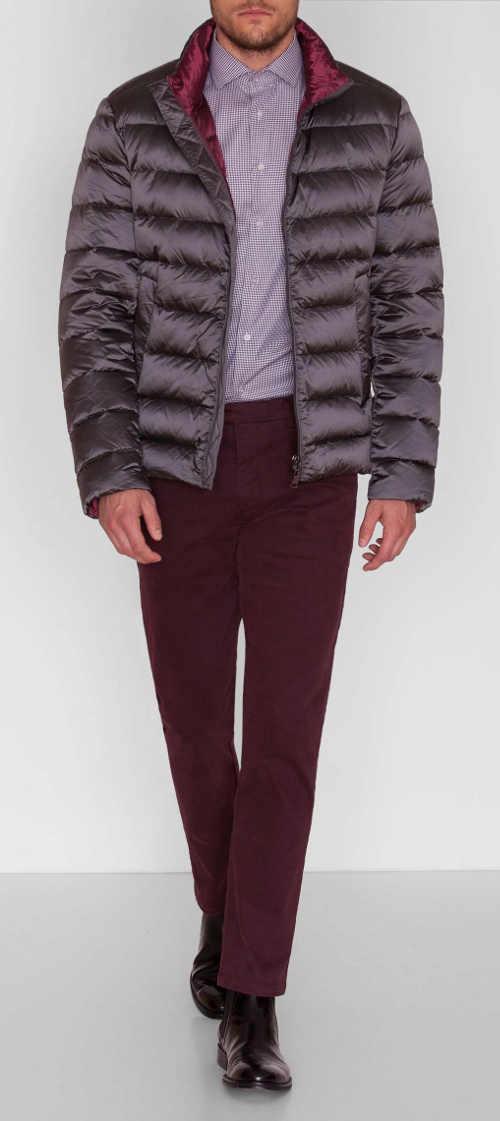 Elegáns férfi téli kabát inghez vagy kabáthoz