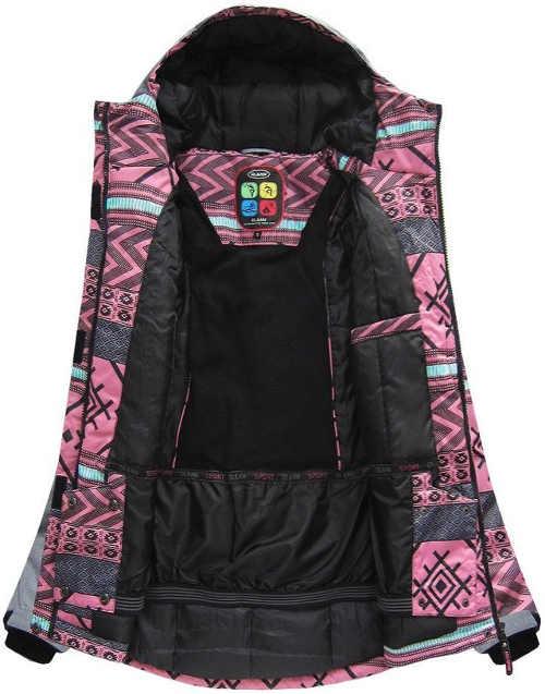 Minőségi női téli kabát vízálló membránnal