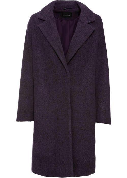 Női kabát gyapjú külsejű
