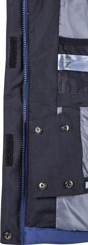 Gyermek kabát szürke-kék színben