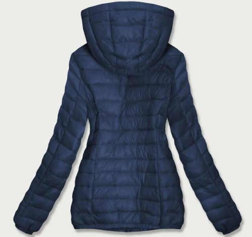 Modern női steppelt hosszú kabát