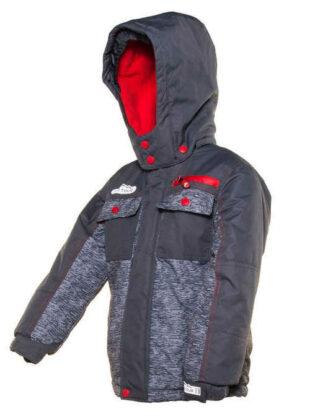 Praktikus modell fiú kabát télire a városban és a hegyekben