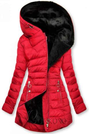 Steppelt kabát hosszabbított hosszban, plüss béléssel