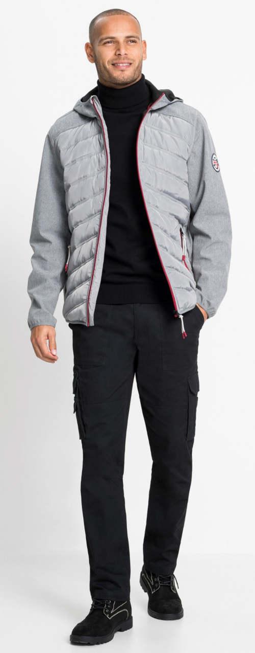 Steppelt softshell kabát párnázással