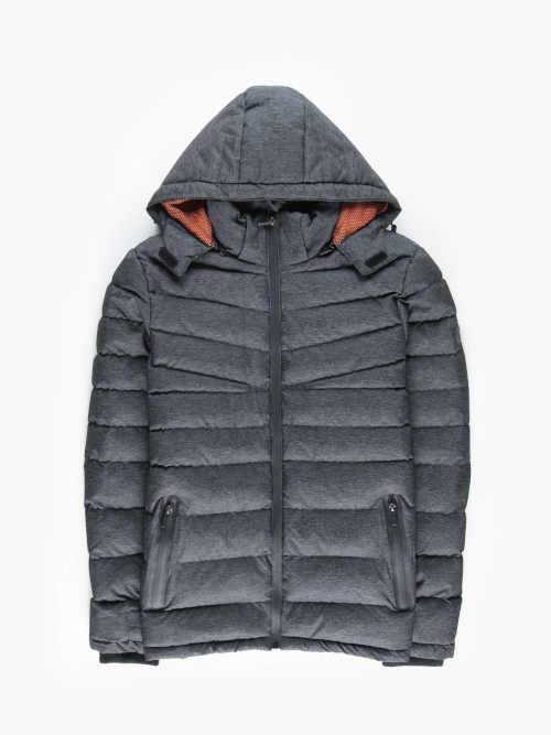 Téli kabát rövidebb hosszban