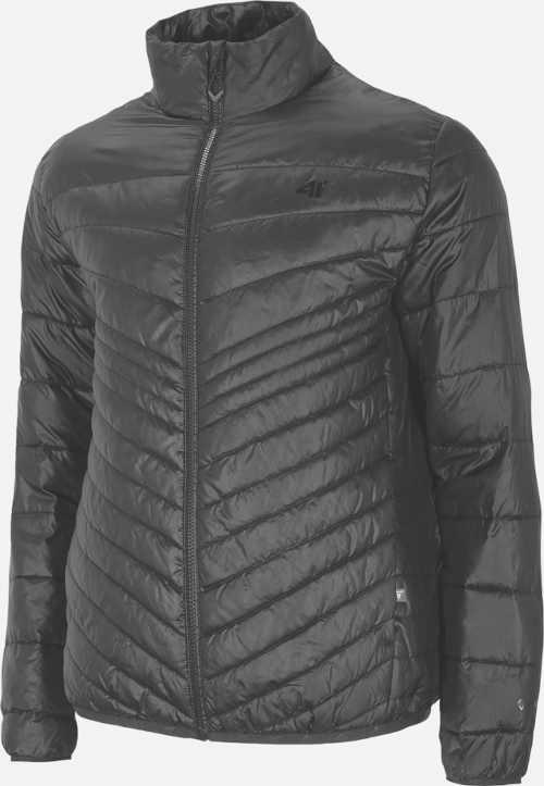 Ultrakönnyű férfi pehelypaplan dzseki fekete színben
