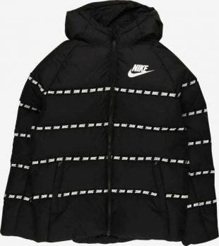 Fekete gyermek télikabát Nike