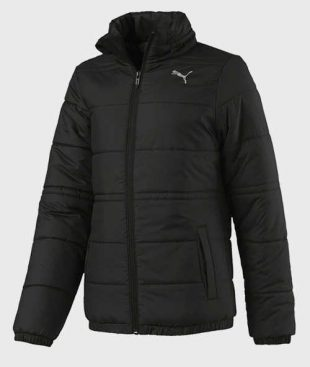 Fekete Puma gyermek téli kabát