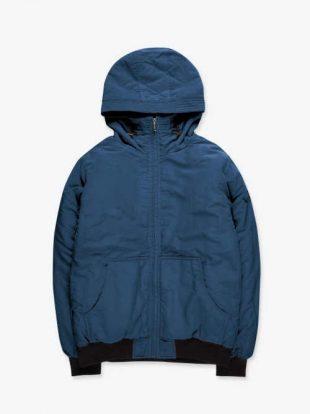 Férfi bélelt téli kabát plüss béléssel